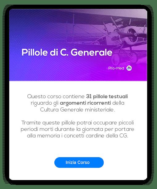 Card Pillole CG